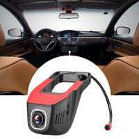 1080P HD 165° WIFI Versteckte Dashcam Auto Kamera DVR Parkmonitor Loop-Video