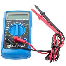 Digital Multimeter Durchgangsprüfung LCD Multimessgeräte Amperemeter Voltmeter