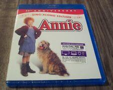ANNIE 30th Anniversary Sing Along Edition BLU-RAY MOVIE