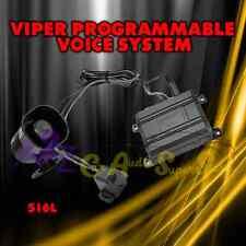 DEI TALKING VOICE ALARM 516L MODULE FOR VIPER CLIFFORD PYTHON AVITAL INVISIBEAM