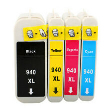 4PK Compatible For HP 940XL 940 XL Ink Cartridges Officejet Pro 8000 8500 8500A