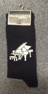 Novelty Grand Piano Socks