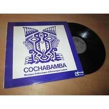 COCHABAMBA musique folklorique d'amerique latine ANDEAN LATIN FOLK BATTEMENT Lp