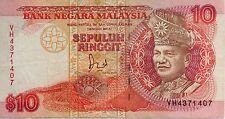 RM10 Jaffar Hussein sign Note VH 4371407