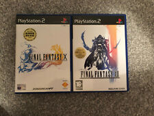 Final Fantasy X / XII (10 / 12) Playstation 2 PS2