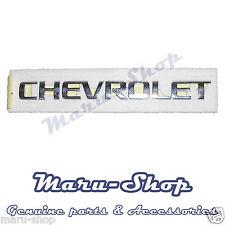 Trunk 'CHEVROLET' Lettering Logo Badge Emblem for 02~08 Chevrolet Lacetti 4DR