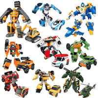 10 Style Tobot 2 Transformation Mobilization Car Robot Action Figure Kids Toys