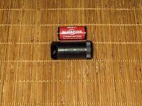 Delrin CR123 Battery / Micro Cache Capsule Holder GOVT OVERRUN - NEW