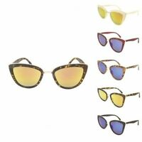 Cat Cats Eye Women Ladies Fashion My Girl Sunglasses Designer Gold Frame 50's