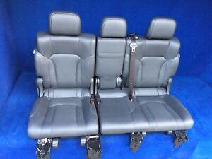 2020 2019 2018 2017 2016 Lexus LX570 2nd Row Bench Seat Black Leather