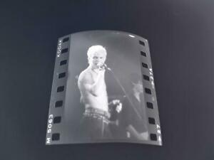 ORIGINAL BLACK & WHITE NEGATIVE OF BILLY IDOL EARLY YEARS  #27A  RARE IMAGE