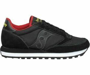 Saucony Jazz Original S2044-251 Black Red Men's Shoes