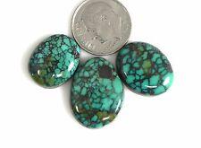 Natural Tibetan Turquoise Gemstones Cabochons Cabs Gems t002