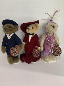 Brass Button Bears 20th Century Collectibles Daisy Baxter Gabrielle - W/ Stands!