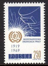 Poland - 1969 50 years ILO - Mi. 1962 MNH