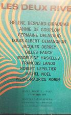 1975 Catalogue de Vente  DROUOT LES DEUX RIVES PEINTURES DESSINS ET GOUACHES