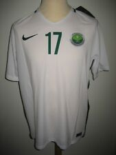 Saudi Arabia home #17 football shirt soccer jersey maillot trikot new WC size L