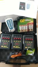 12 Cue Wireless Remote Fireworks Firework Firing System - Igniters - Batteries