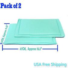 2X Anti-Frost Freezer Mat No Frost Anti Ice Soft Fridge Cushion No Frost Buildup