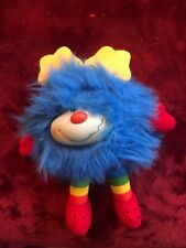 Rainbow Bright Sprite - Blue Is Preowned No Tags Vintage Bright Blue Plush 6�