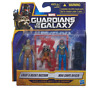 Marvel Guardians of the Galaxy Groot, Rocket Raccoon and Nova Corps Officer