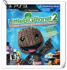 PS3 MOVE Little Big Planet 2 CHINESE 小小大星球2 中文版 Sony Platform Games SCE