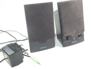 CREATIVE SOUNDBLASTER Computer Speakers SBS250 Working