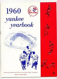 1960 New York Yankees Yearbook  Mantle  Maris  4/10/1960 Roster