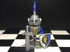 Lego Knight Minifigure With Helmet Plume / Armor / Sword / Kingdom / Castle