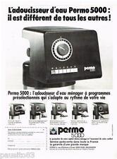 PUBLICITE ADVERTISING 095  1977  PERMO 5000  adoucisseur d'eau
