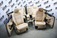 VW Sharan 7N 6 Sitzer Lederausstattung Beige Leder Alcantara SHZ SITZE
