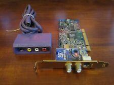 ATI Theatre 650 PRO PCI FM ATSC NTSC ClearQAM TV Tuner with Video Capture Box