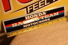VINTAGE Motocross Honda Racing bumper sticker Works CR RC XR 125 250 500 AHRMA