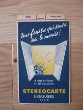MONTE-CARLO STEROCARTE BRUGUIERE N° 2309