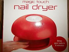 Nail Dryer Red in Box - Good!