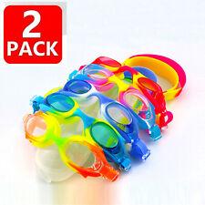 Kids Swimming Goggles Anti-Fog Swim Glasses Uv Protection with Ear Plug Children