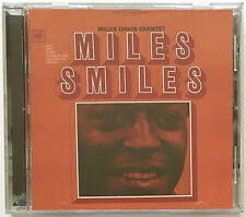 MILES DAVIS QUINTET MILES SMILES 1998 COLUMBIA LEGACY CD OUT OF PRINT