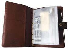 storage cc pouch fits Louis Vuitton PM Small Agenda Organizer +Paper+ Pen Insert