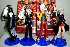 4PCS Soul Eater Maka BlackStar Kid Lizu cosplay anime PVC Figure new