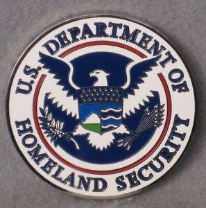 U.S. DEPARTMENT OF HOMELAND SECURITY UNACTIVATED TRACKABLE GEOCOIN