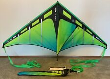 Prism Zenith 5 Travel Delta Kite - Aurora with flying line and tails