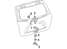 scion direct replacement car and truck tailgates and liftgates ebay Scion XD Interior toyotascion 6935028150 genuine oem lock assy