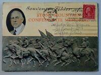 Stone Mountain Confederate Memorial Atlanta, Georgia Vintage Postcard Booklet
