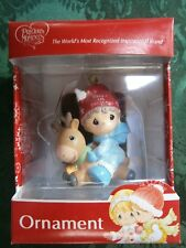 New Precious Moments Ornament Babys First 1st Christmas Boy/Deer (No Date/Year)