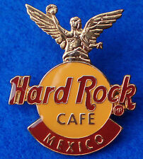 New listing Mexico City Angel Of Independencia Light Lt Brown Enamel Logo Hard Rock Cafe Pin
