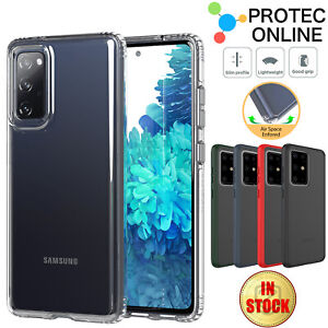 For Samsung Galaxy S21 S20 Ultra Plus FE 5G Case Slim Clear Heavy Duty Cover