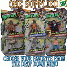 Teenage Mutant Ninja Turtles Monsters + Mutants Action Figures ONE SUPPLIED