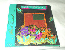 Laurel Burch Mythical Menagerie rubber stamp set sealed lion birds animals New