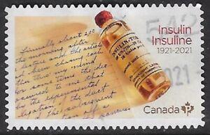 Canada  2021 Insulin 1921-2021 - Used - dw999h
