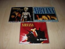NIRVANA - COLLECTION / JOB LOT OF 3 CD SINGLES ALL IN EXCELLENT CONDITION